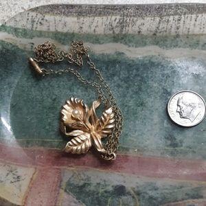 Lotus necklace